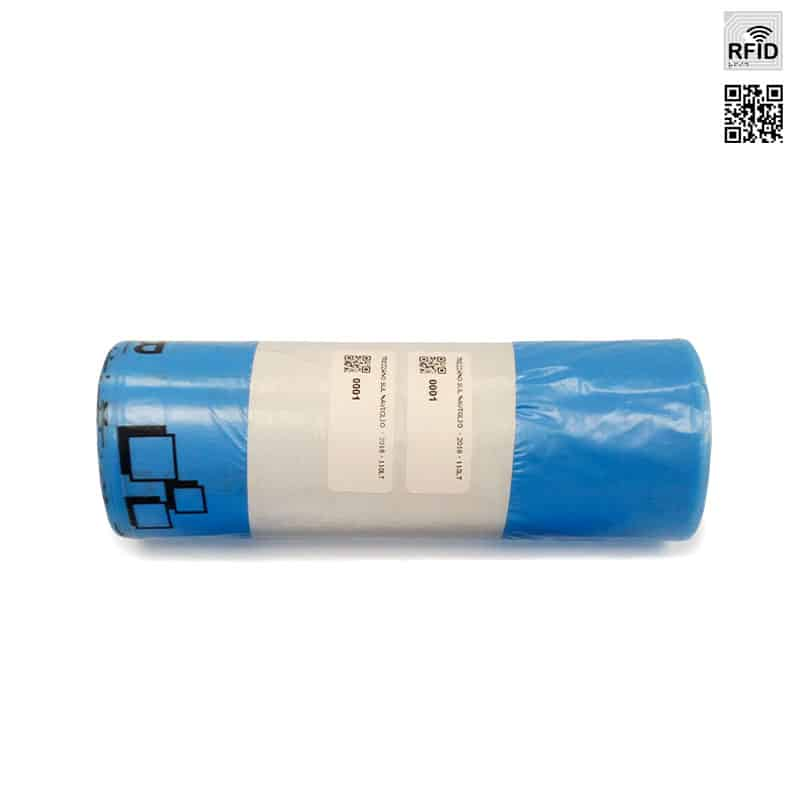 Sacco con tag RFID